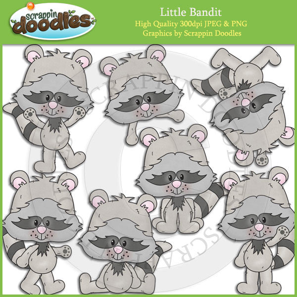 Little Bandit Clip Art Download
