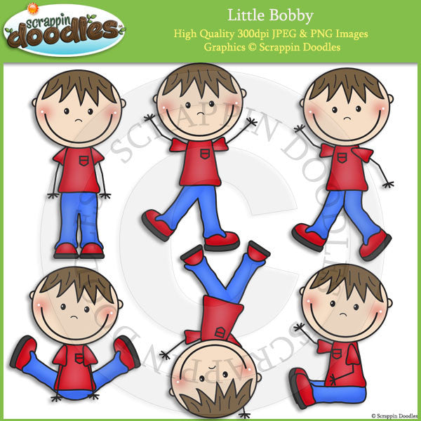 Little Bobby Clip Art
