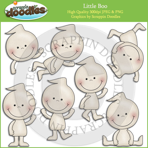 Little Boo Clip Art Download