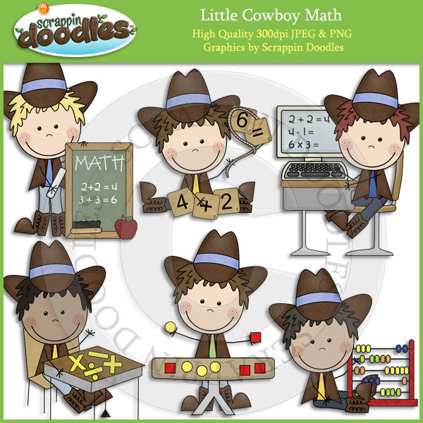 Little Cowgirl & Cowboy Math