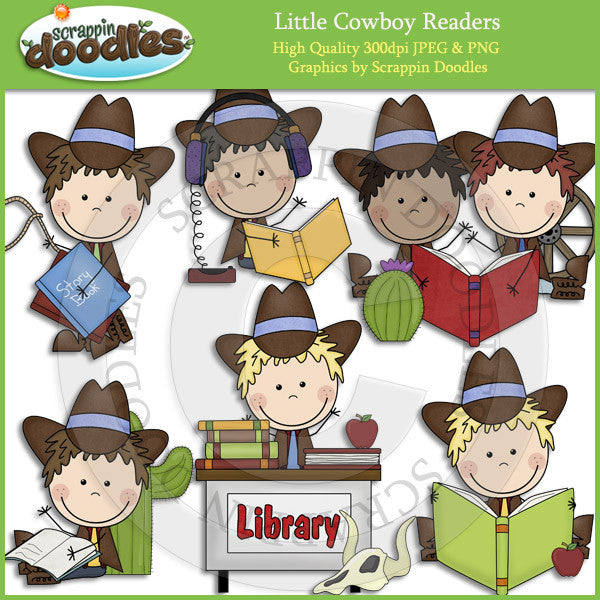 Little Cowgirl & Cowboy Readers