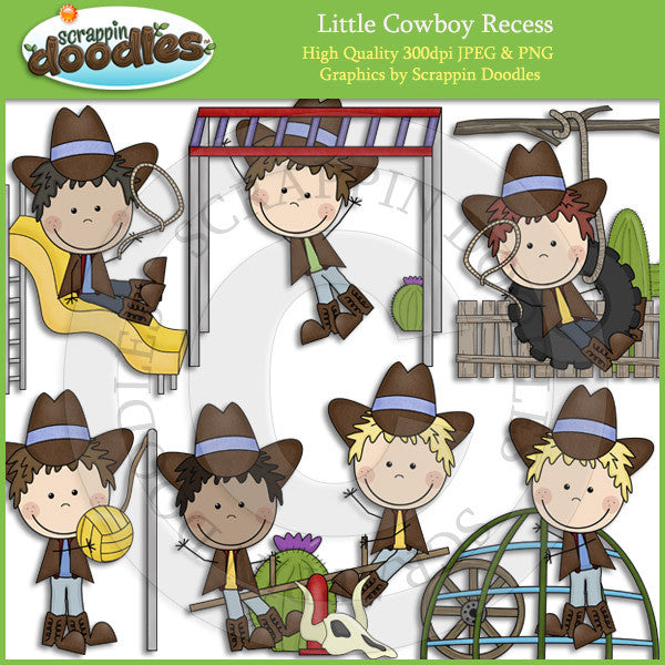 Little Cowgirl & Cowboy Recess