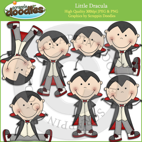 Little Dracula Clip Art Download