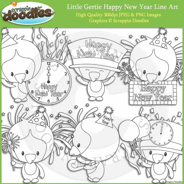 Little Gertie Happy New Year