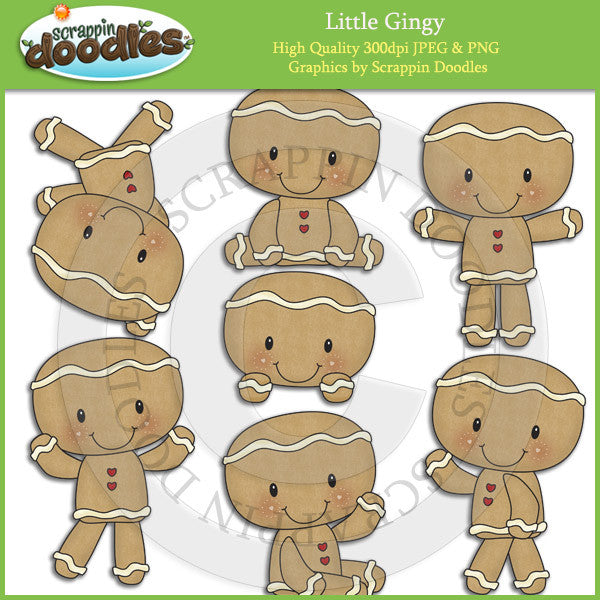 Little Gingy Clip Art Download