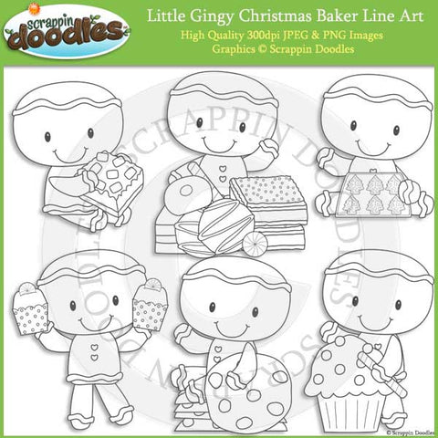Little Gingy Christmas Baker