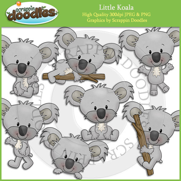 Little Koala Clip Art Download