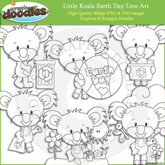 Little Koala Earth Day
