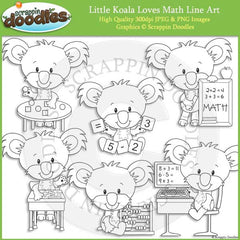 Little Koala Loves Math