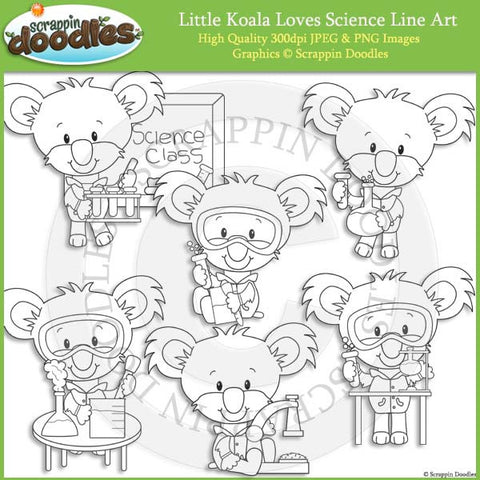 Little Koala Loves Science
