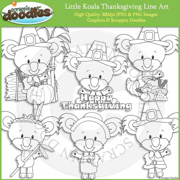 Little Koala Thanksgiving