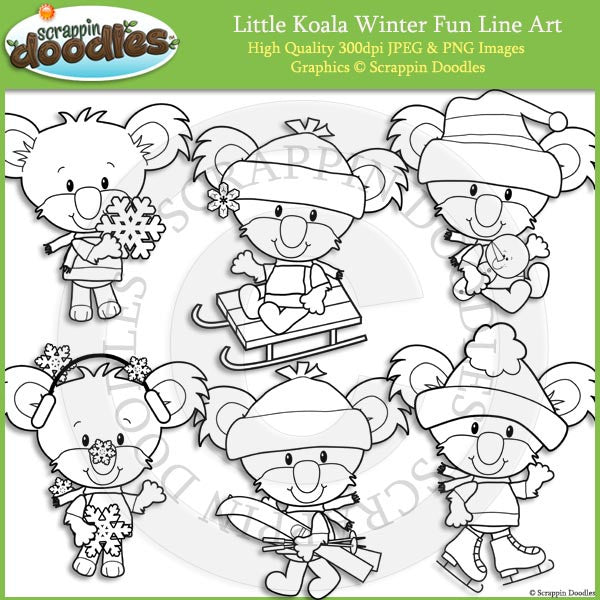 Little Koala Winter Fun