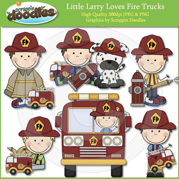 Curly Sue & Little Larry Fire Safety