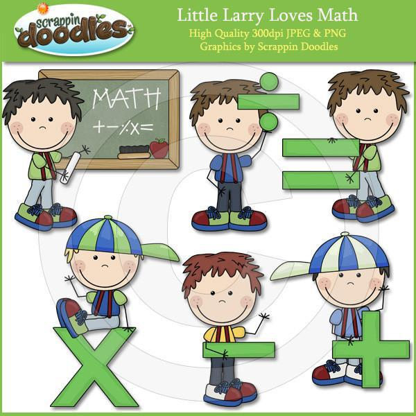 Curly Sue & Little Larry Love Math