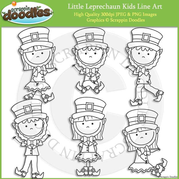 Little Leprechaun Kids