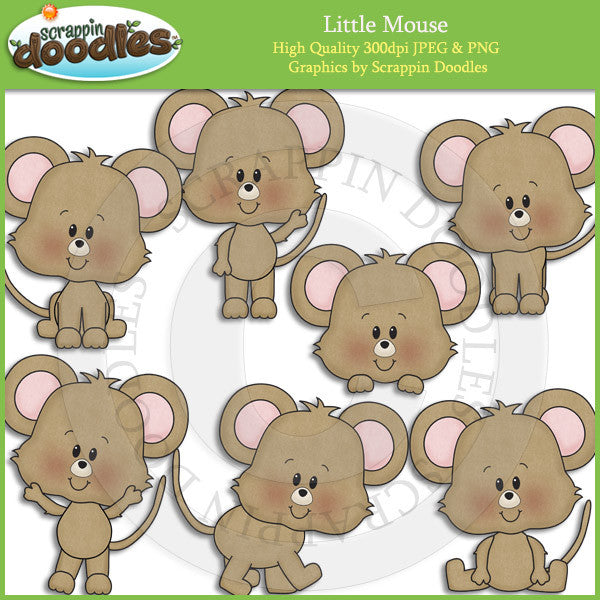 Little Mouse Clip Art Download