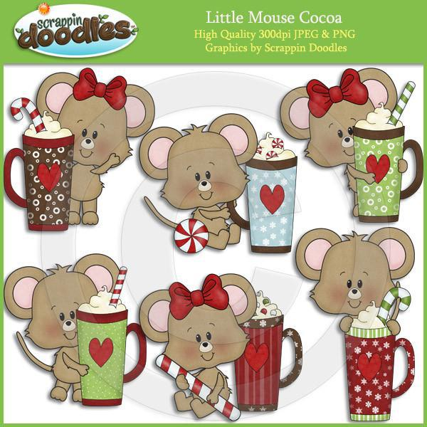 Little Mouse Cocoa Clip Art Download
