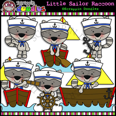Little Raccoon Sailors