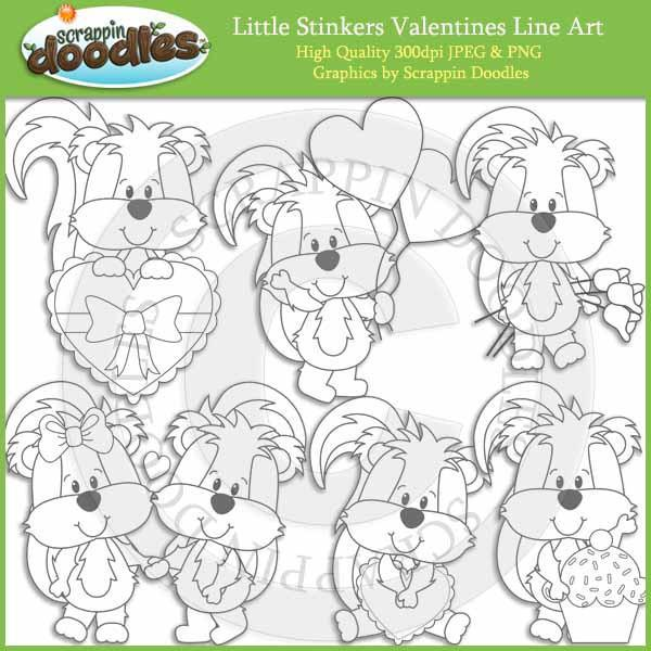 Little Stinkers Valentines