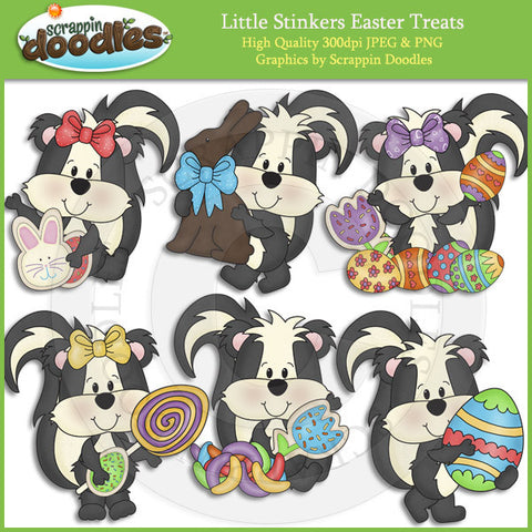 Little Stinkers Easter Treats Clip Art Download