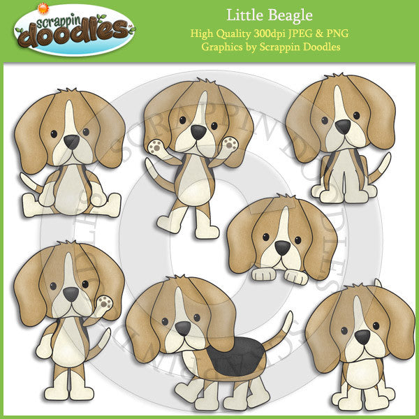 Little Beagle Clip Art Download