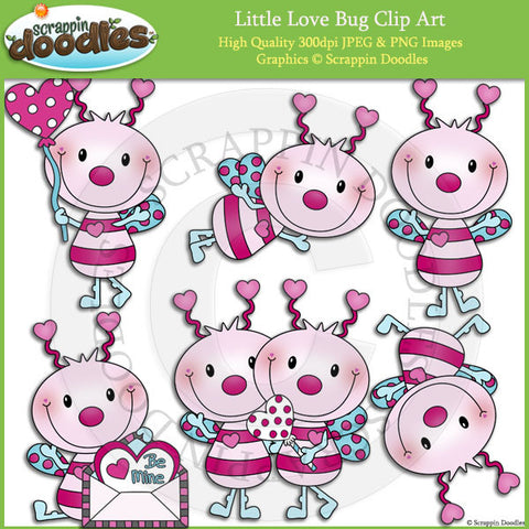 Little Love Bug Clip Art