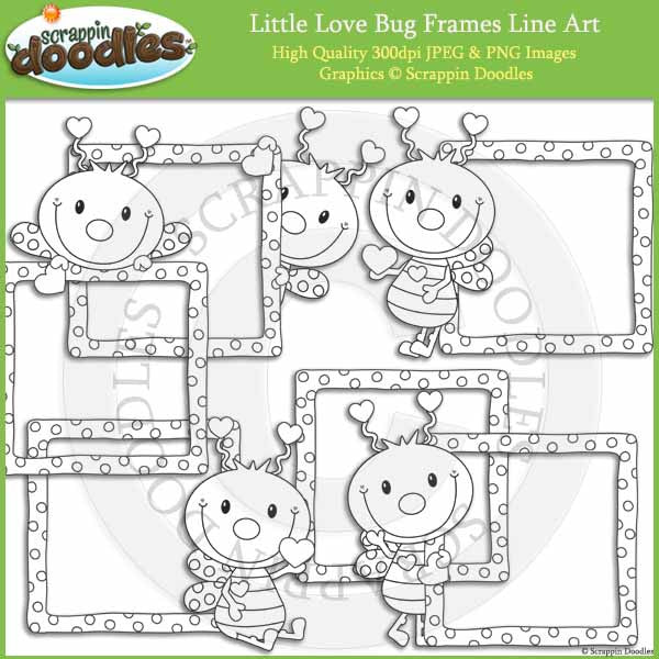 Little Love Bug Frames