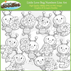 Little Love Bug Numbers