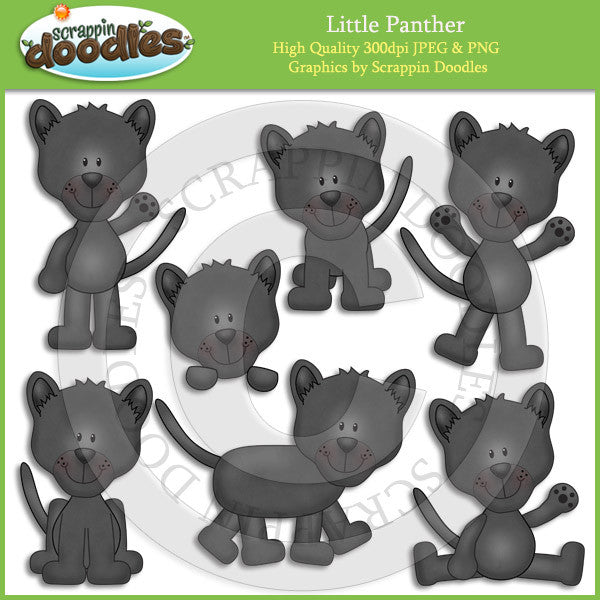 Little Panther Clip Art Download
