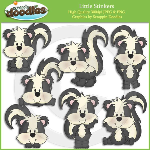 Little Stinkers Clip Art Download