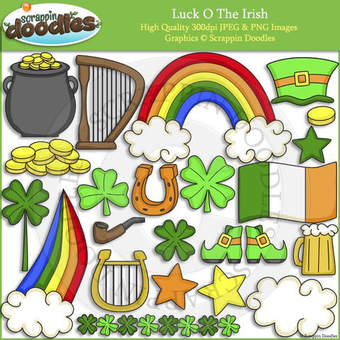 Luck O The Irish Clip Art