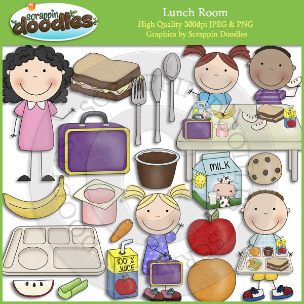 Lunch Room Clip Art Download