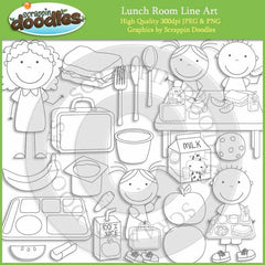 Lunch Room Clip Art Download Commercial Use