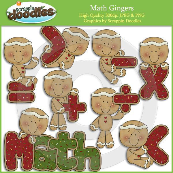 Math Gingers Clip Art Download