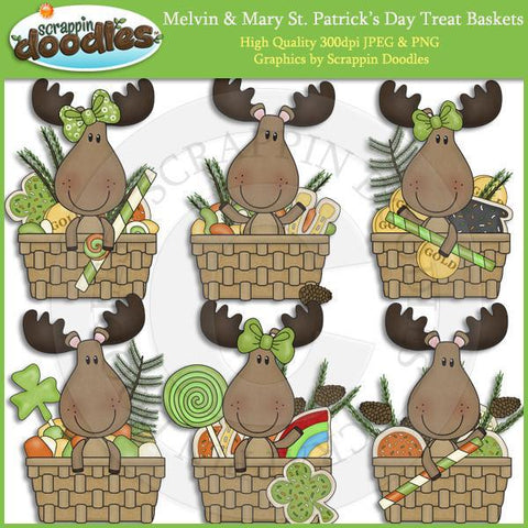 Melvn & Mary St. Patrick's Day Treat Baskets Download