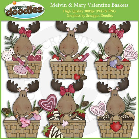 Melvin & Mary Valentine Baskets Download