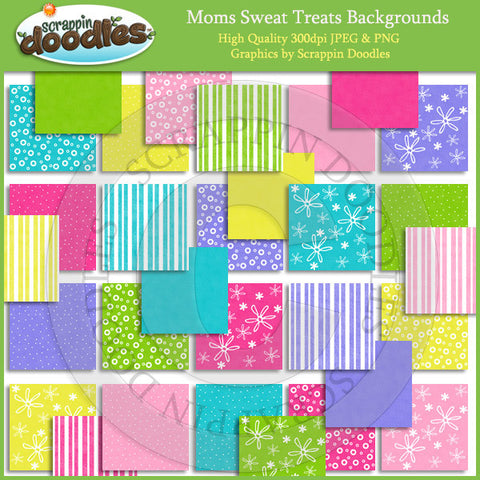 Moms Sweet Treats Backgrounds Download