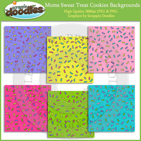Moms Sweet Treat Cookie Sprinkle Backgrounds Download