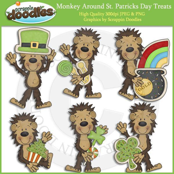 Monkey Around St Patricks Day Treats Download