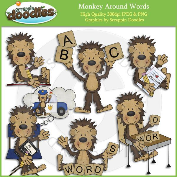 Monkey Around Words / Writers Download