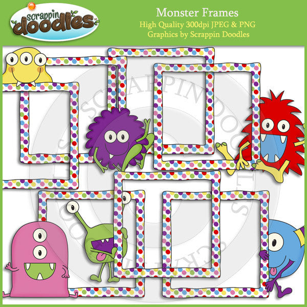 Monster Frames Clip Art Download