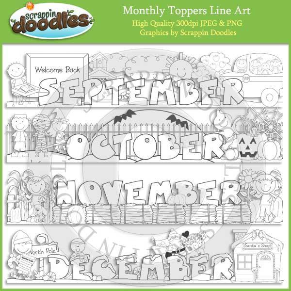 Monthly Toppers - January through December