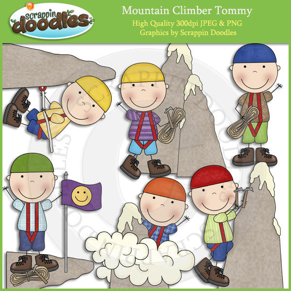 Mountain Climber Susie & Tommy