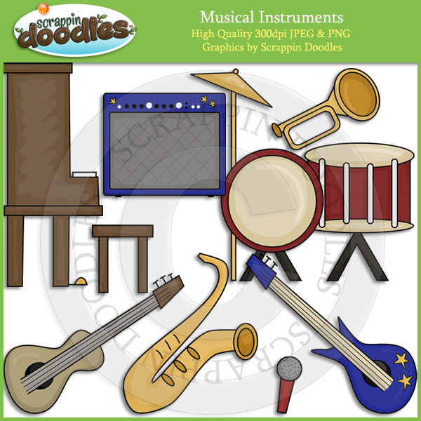 Musical Instruments Clip Art Download