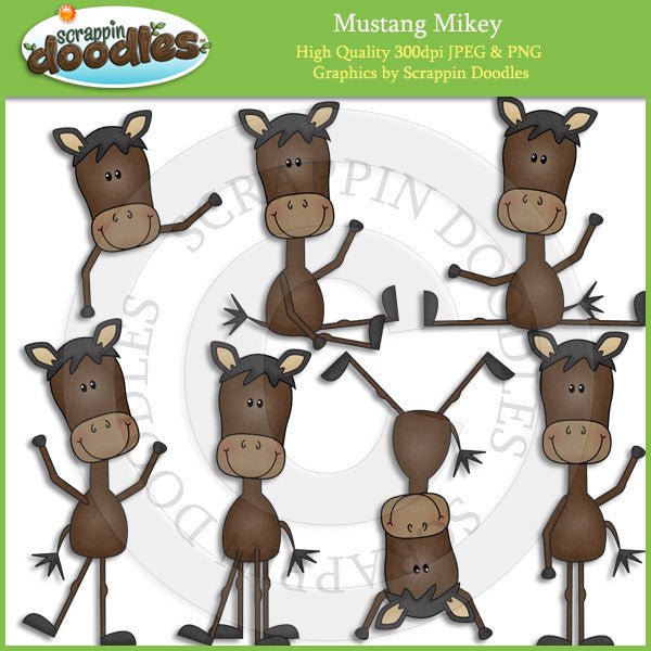 Mustang Mikey Clip Art Download
