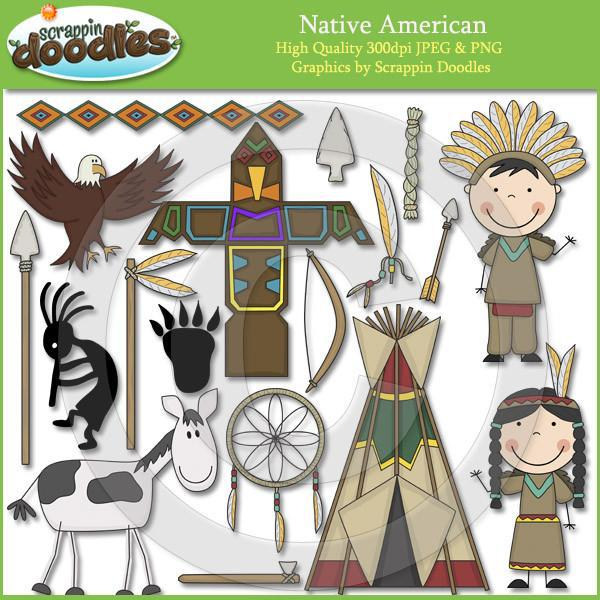 Native American Clip Art Download