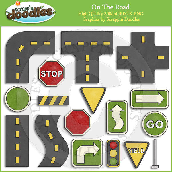 On The Road Clip Art Download