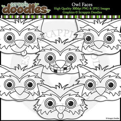 Owl Faces