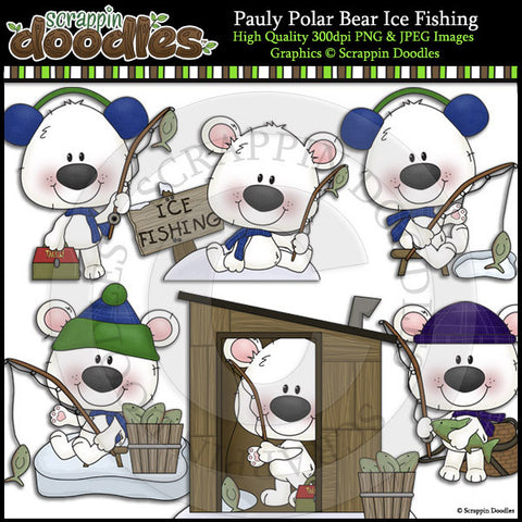 Pauly Polar Bear Ice Fishing
