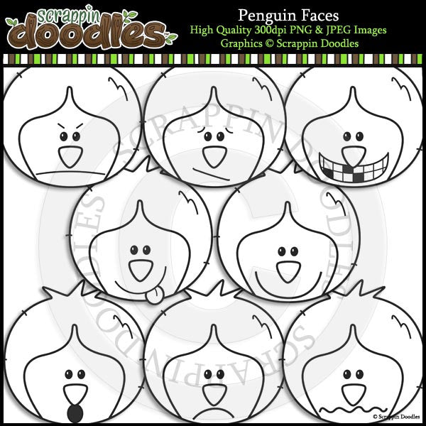 Penguin Faces